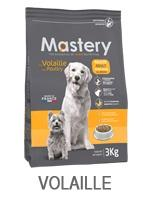 mastery chien volaille